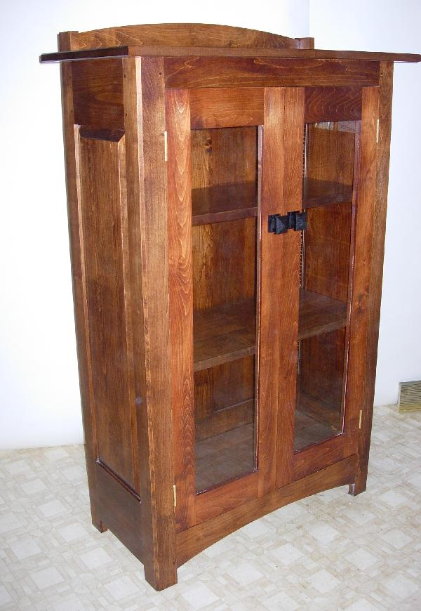 Arts amp Crafts Style Bookcase